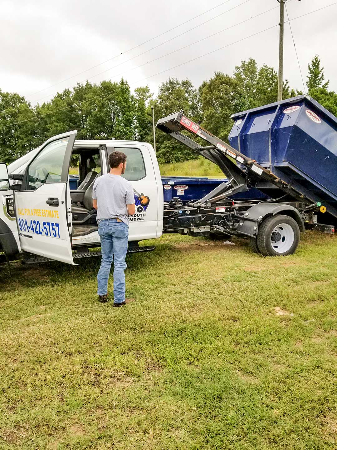 staff and midsouth service trucks