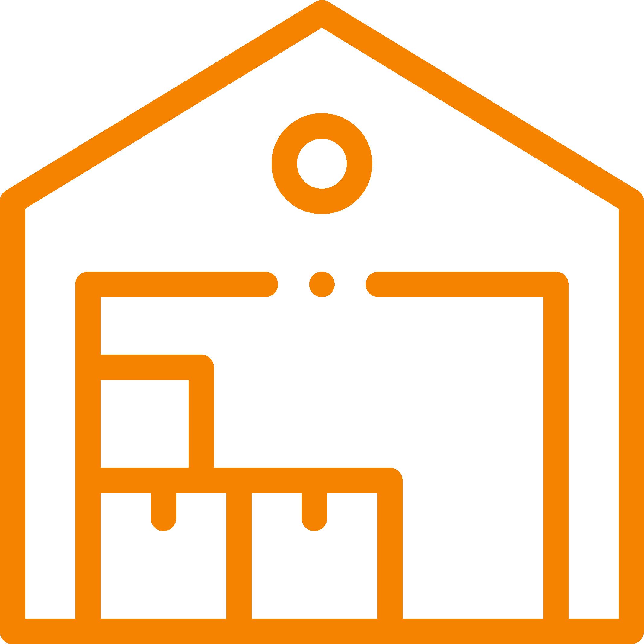 storage house icon