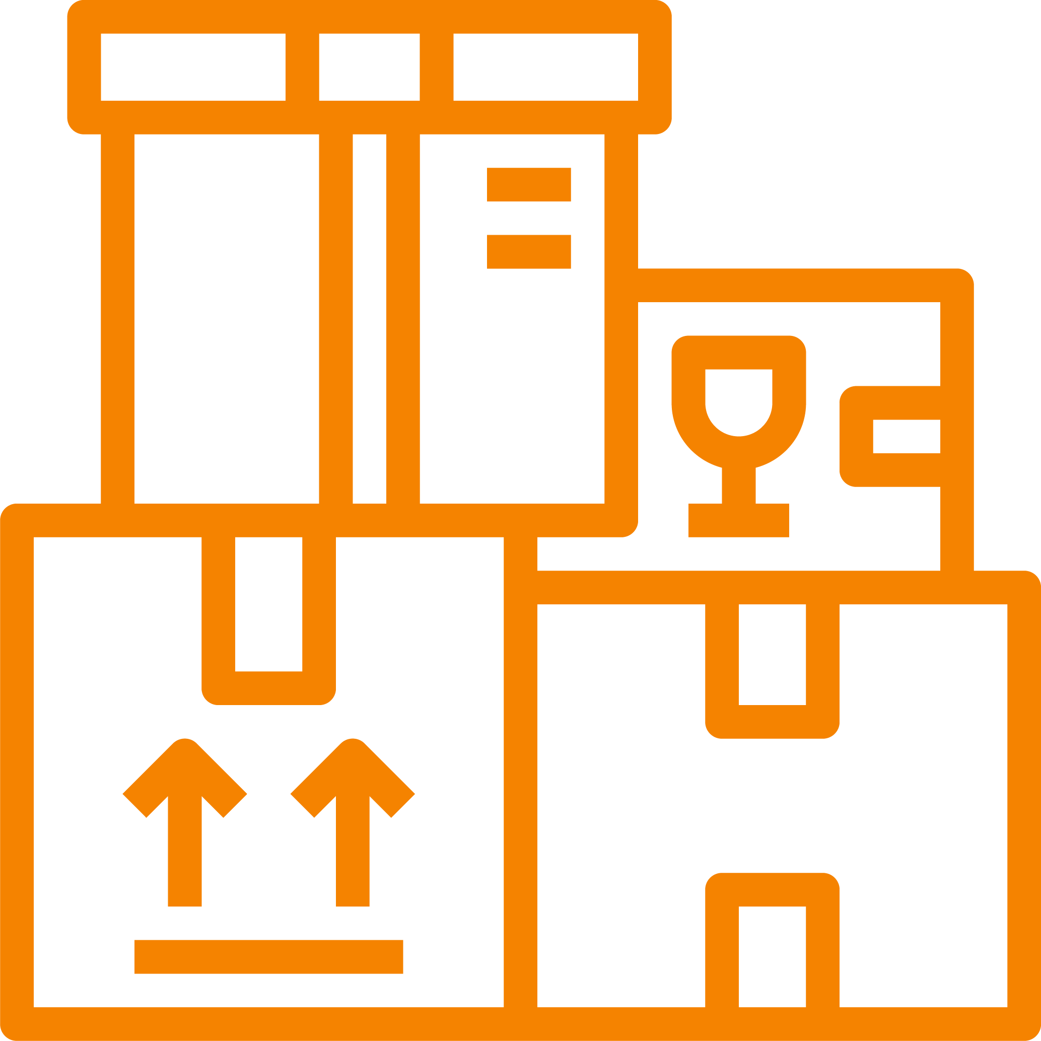 storage containers icon