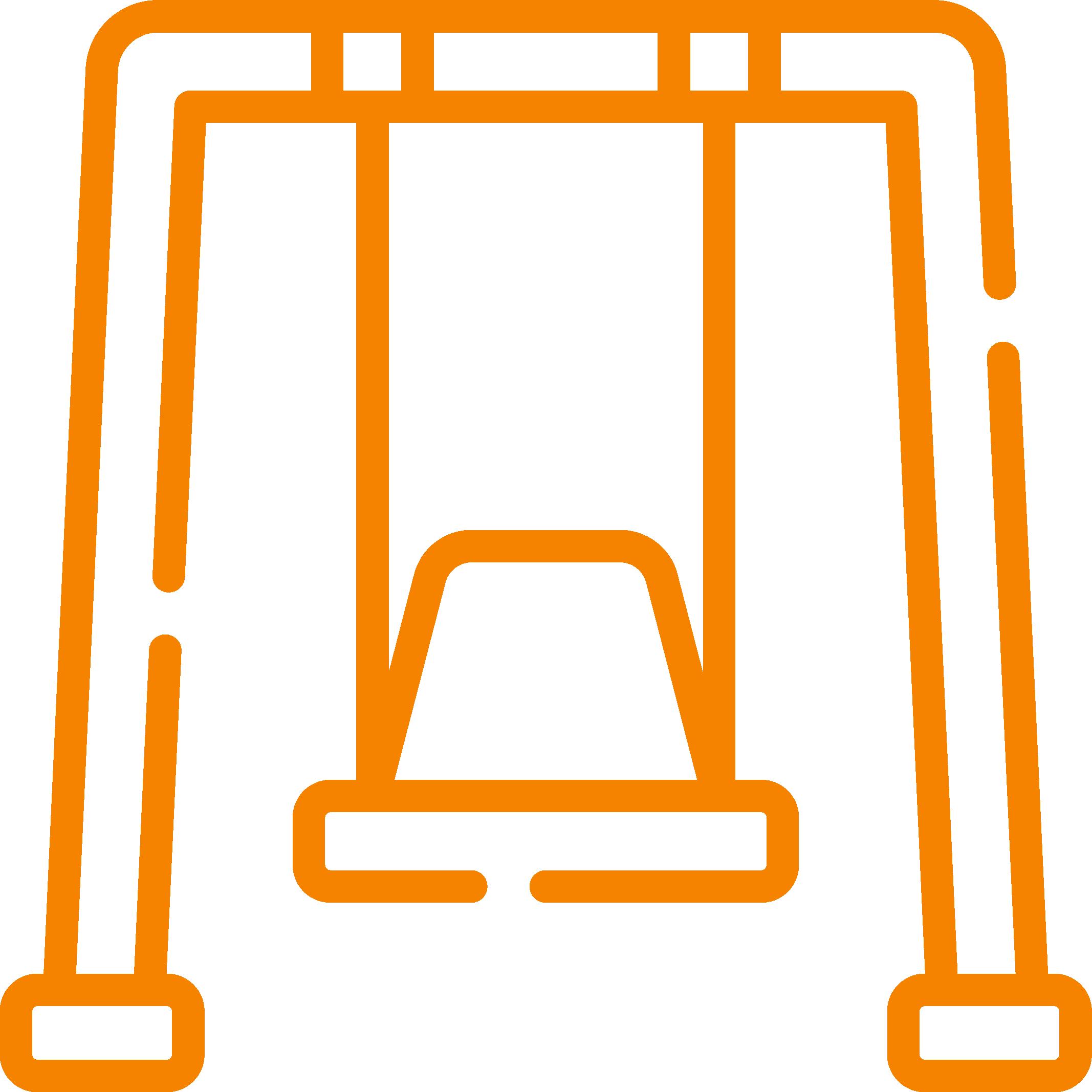 Wooden Swingset Icon